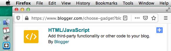 30 - Gadget - HTML/JavaScript
