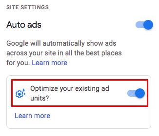 fig5-Toggle 'ON' to Optimize Auto Ad
