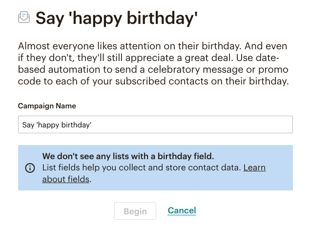 fig28-MailChimp Automation: Say 'happy birthday'